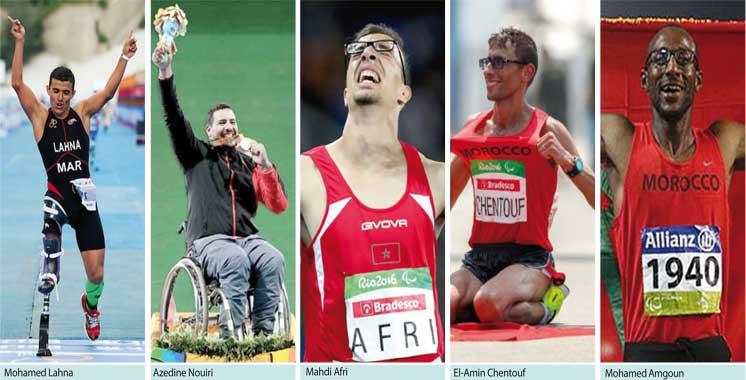 Jeux paralympiques de Rio : de l'or pour Amine Chentouf