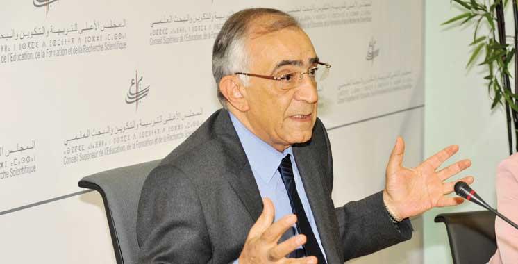 Le projet donnera un cadre légal à la vision 2015-2030: Une loi-cadre devant le Conseil de Azziman