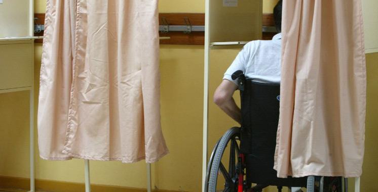 Vote des personnes en situation de handicap : L'Intérieur prévoit des mesures