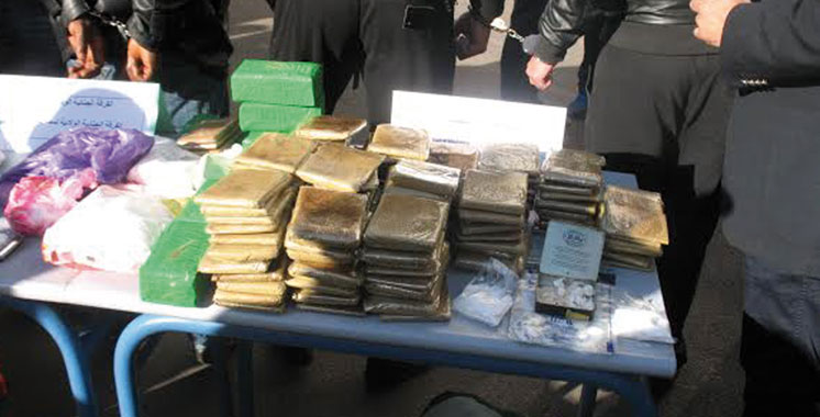 Casablanca : arrestation de 3 individus en possession de 96 kg de Chira
