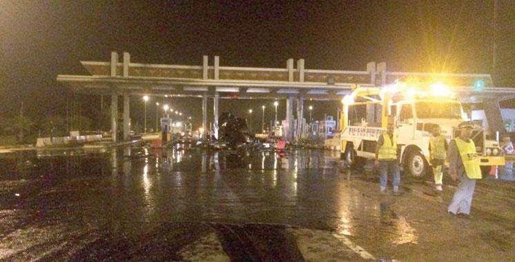 Un mort et huit blessés au bilan: Un accident tragique survenu à l'entrée d'Agadir