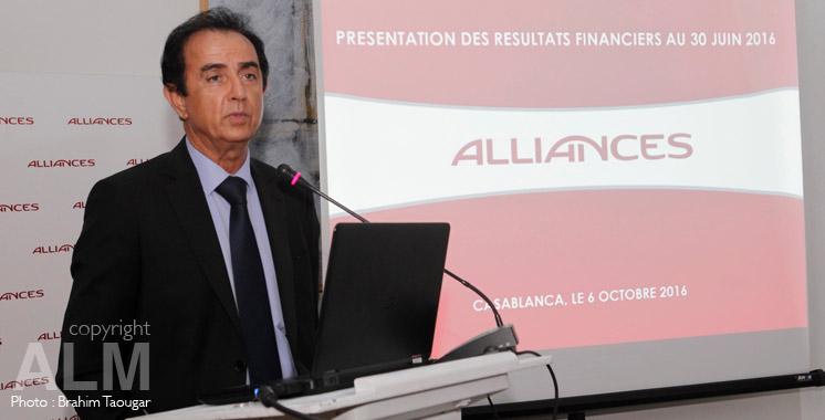 Ahmed Ammor, directeur général du Groupe Alliances