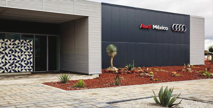 Inauguration : Audi ouvre une usine au Mexique