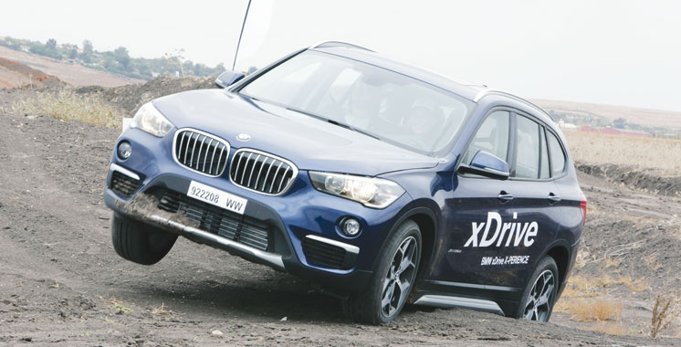 Avec la technologie xDrive: BMW est la star du X