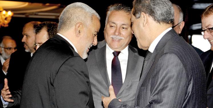 Benkirane, Laenser et Benabdellah négocient les parts du «gâteau»