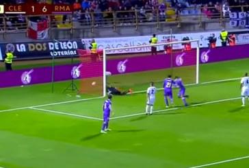 Vidéo : La superbe reprise de volée de Nasho en Coupe du Roi
