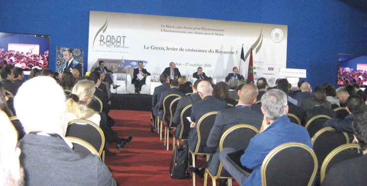 Les Entretiens de Rabat: Les opportunités du green en perspective
