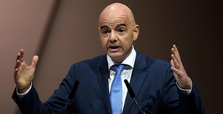Football : Infantino envisage une Coupe du monde à 48 dès 2022