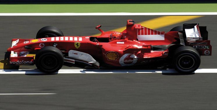 La collection privée de voitures de Schumacher  transférée en Allemagne