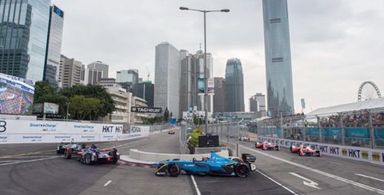Formule Electrique : Buemi s'illustre à Hong Kong