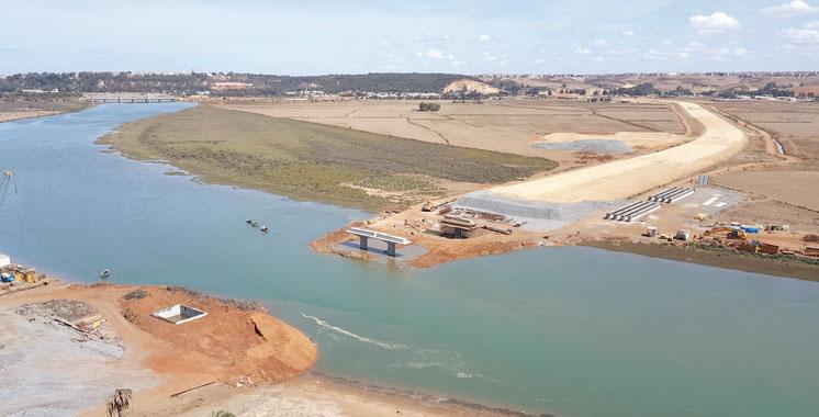 Franchissement du fleuve Bouregreg: La rocade urbaine n° 2 et le parkway livrés en 2017