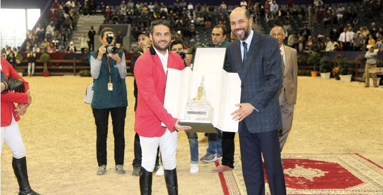 Morocco Royal Tour de saut d'obstacles: Hani Bisharat s'adjuge le Grand Prix de SM le Roi