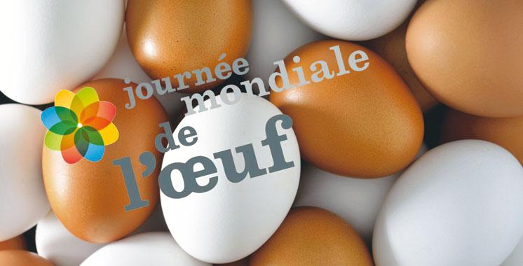 Journée mondiale de l'œuf: 5,2 milliards d'unités en 2015