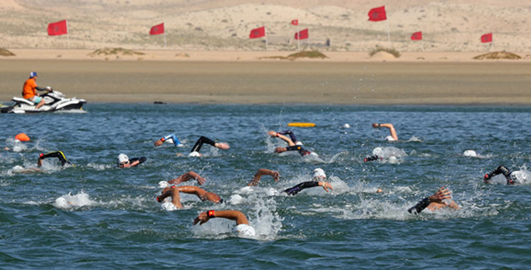 2ème édition du Morocco Swim Trek à Dakhla: Distinction du Marocain Lafkili et de l'Italienne Lionello