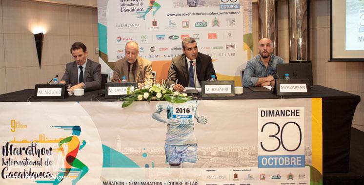 Nouveau parcours pour le Marathon de Casablanca