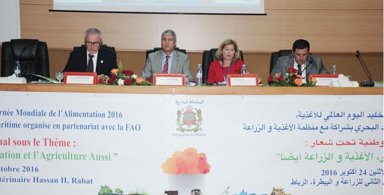 La Journée mondiale de l'alimentation 2016 célébrée à Rabat