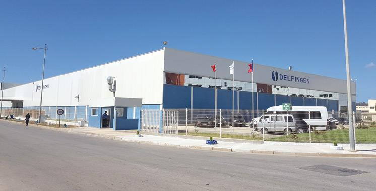 Delfingen inaugure une nouvelle  usine à Tanger