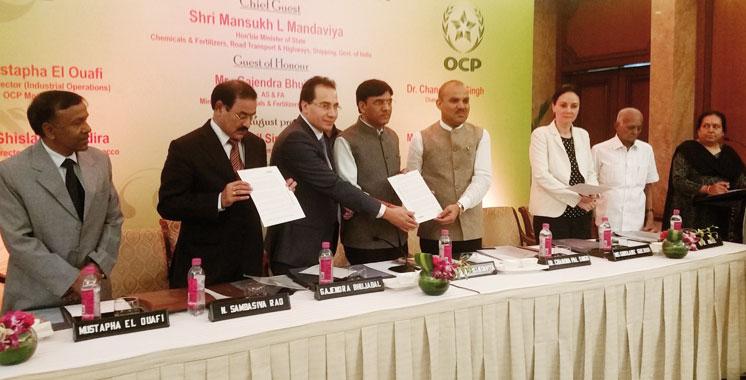 OCP investit dans une usine en Inde