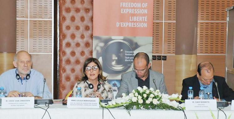 Une formation à la liberté de la presse: Les limites à l'exercice de la liberté d'expression débattues à Tanger