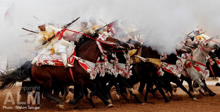 Trophée Hassan II des arts équestres (Tbourida) : 24 troupes «Sorbas» en compétition