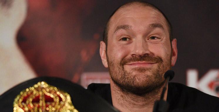 Boxe : Tyson Fury abandonne ses titres de champion du monde
