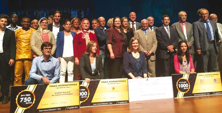 Compétition internationale: Des doctorants en émulation