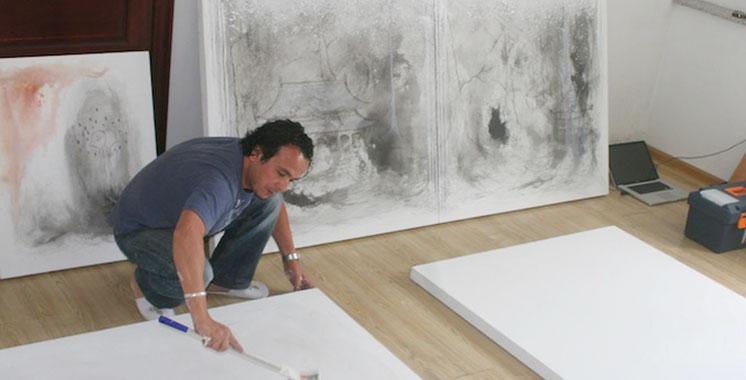 «Pi-pôle» d'Ahmed Hajoubi à l'IF de Rabat