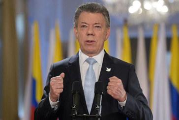Le prix Nobel de la paix remis au président colombien Juan Manuel Santos
