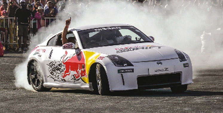 Compétition: Le Red Bull Car Park Drift s'invite  au Morocco Mall