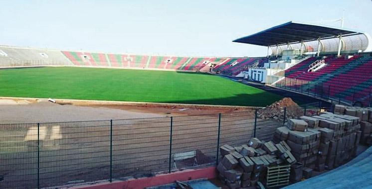 Un nouveau visage pour le stade Mohamed Cheikh Laghdaf