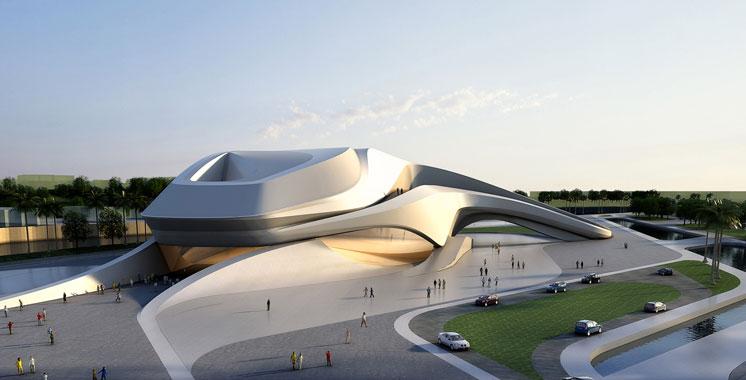 Infrastructures: Le Grand théâtre de Rabat sera fin prêt en 2018