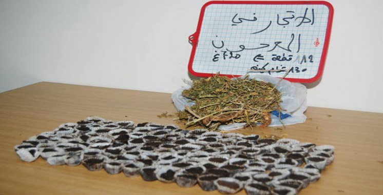 Grand Casablanca : Saisie de haschich, de Maâjoun et de tabac de contrebande