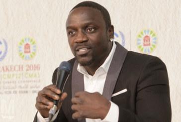 Marrakech : Akon présent à la COP pour promouvoir les nouvelles technologies d'éclairages