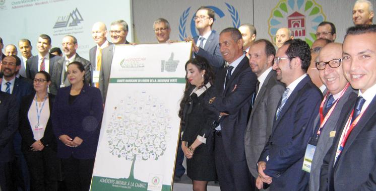 Une cinquantaine d'entreprises s'engage en faveur de la logistique verte