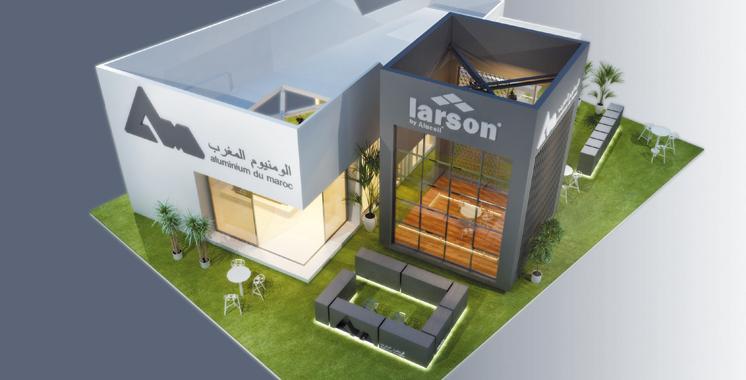 Salon international du bâtiment :  Aluminium du Maroc toujours plus créatif