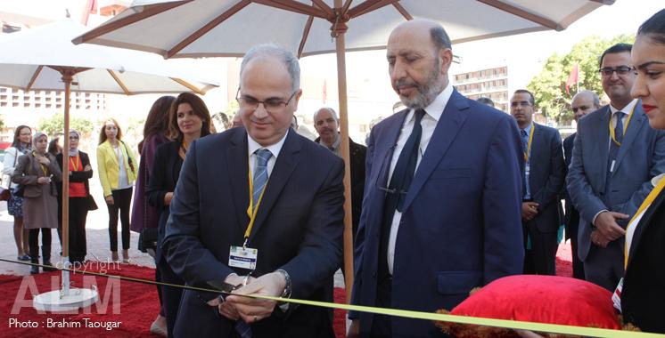 Barid Al Maghrib inaugure la cité de la poste : Dessine moi un timbre vert