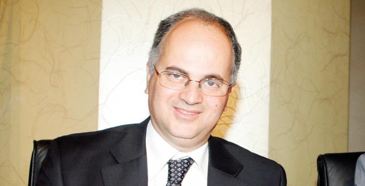 Amine Benjelloun Touimi, directeur général de  Barid Al-Maghrib