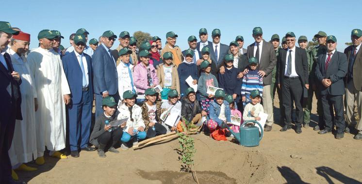 Un million d'arbres plantés en une journée
