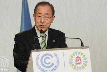 Ban Ki-moon admire profondément le Maroc et appelle à plus d'action pour le climat