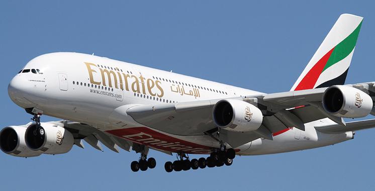 Le A380 d'Emirates atterrira à l'aéroport Mohammed V fin mars 2017