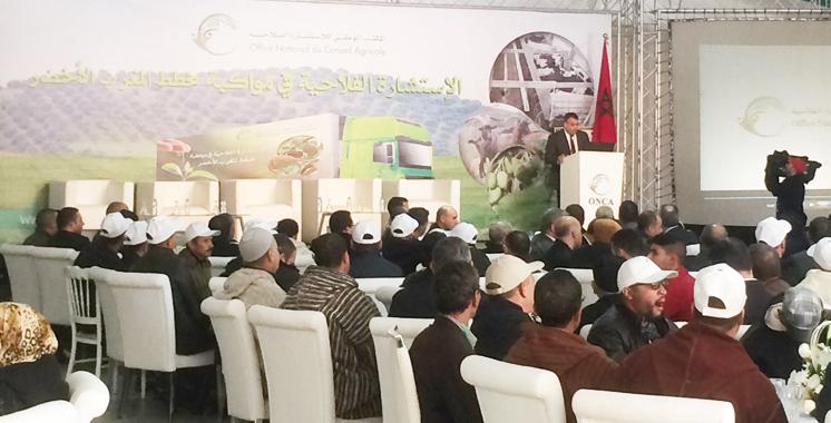 8ème étape de son village itinérant: Le Conseil agricole, maillon  fort de l'agriculture durable