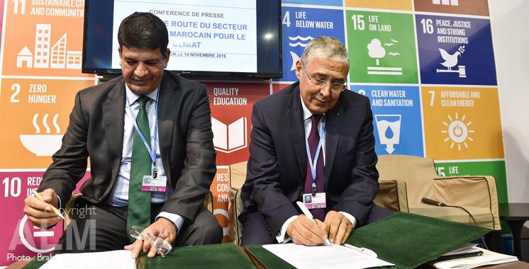 COP22: Attijariwafa Bank signe quatre conventions consacrées à l'environnement