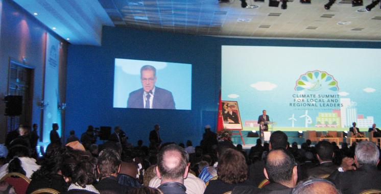 Deuxième sommet des élus locaux et régionaux en marge de la COP22: Les villes sont les moteurs de croissance