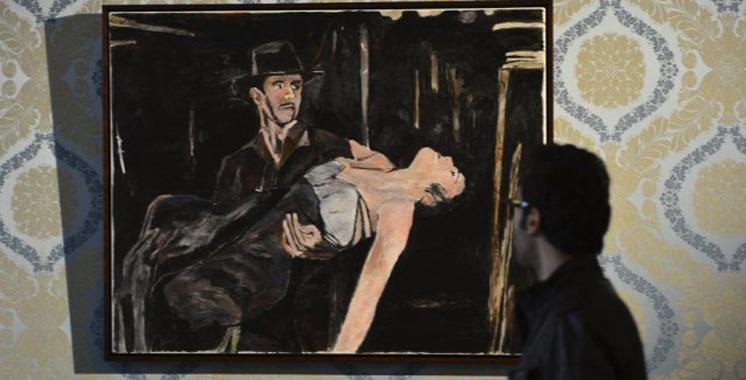 Londres : Des peintures de Bob Dylan exposées
