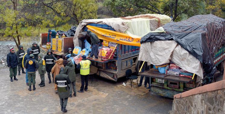 Province de Taroudant: La Fondation Mohammed V pour la solidarité vient en aide à 3.000 familles