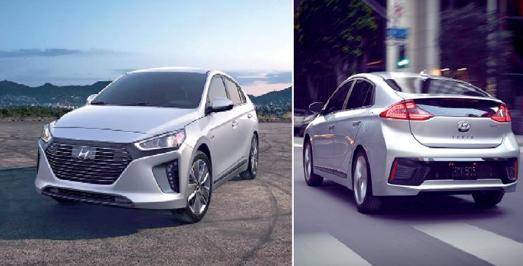 Hyundai lance son modèle hybride au Moyen-Orient: L'Ioniq hybrid livrée en fin 2016