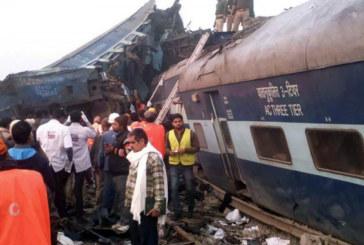Inde: plus de 140 morts dans un accident de train