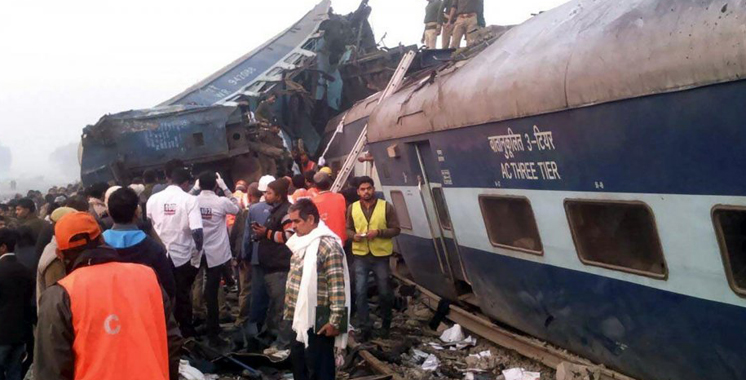 Inde: plus de 140 morts dans un accident de train