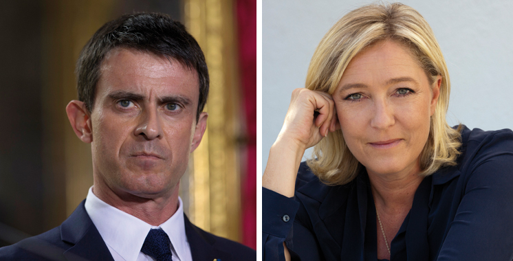 France : Manuel Valls juge « possible » que Marine Le Pen gagne la présidentielle en 2017