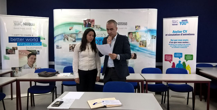 Nestlé Maroc prépare les jeunes au marché du travail